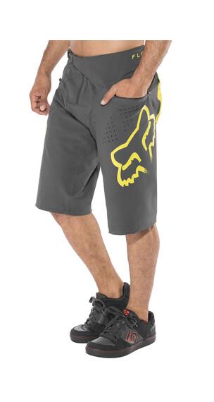 Fox Flexair Spodnie rowerowe żółty/czarny